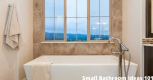 Small Bathroom Ideas 101 1