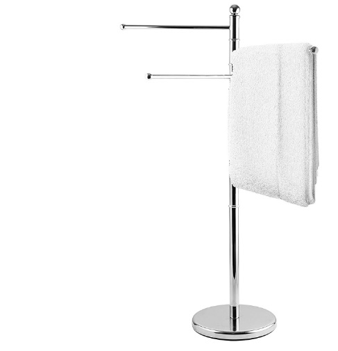Where To Hang Towels In A Small Bathroom? 1