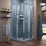 small bathroom shower enclosure