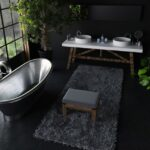 Amazing Black Bathroom Accessories For Your Small Bathroom 7