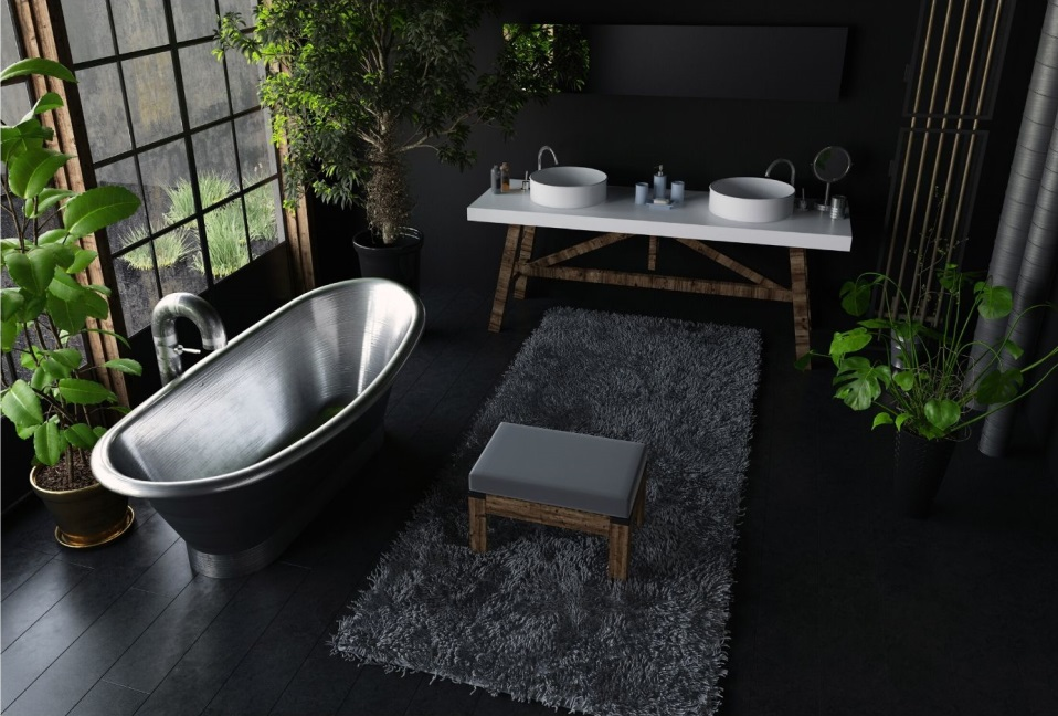 Amazing Black Bathroom Accessories For Your Small Bathroom 1