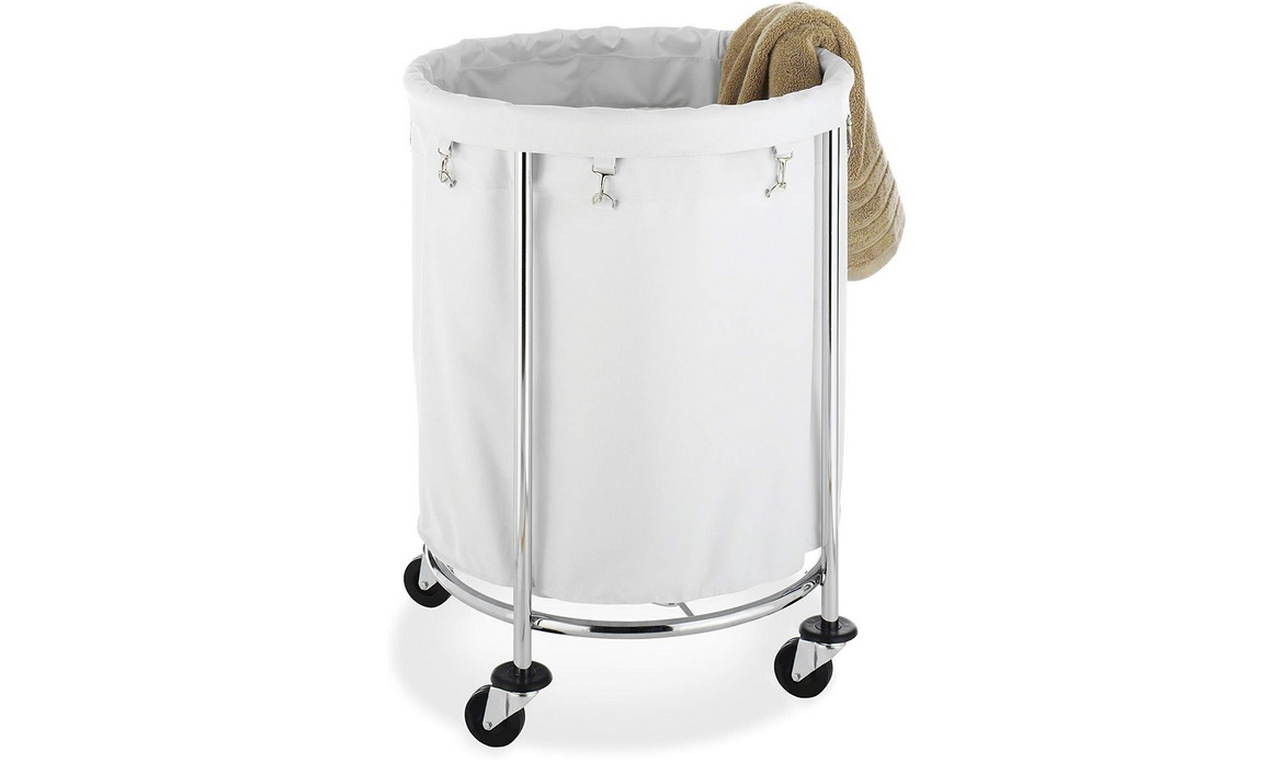 Laundry Hamper Ideas For Your Small Bathroom 1