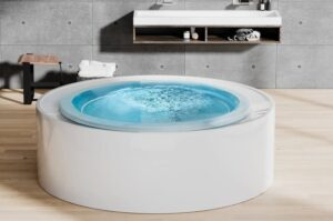 The Amazing Aquatica Fusion Rondo Spa Jetted Outdoor/Indoor Bathtub 1